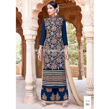 Wholesale Eid Special Pakistani Style Embroidered Straight Suits