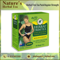 30 Bags Pack Natural Tea for Slimming and Trimming