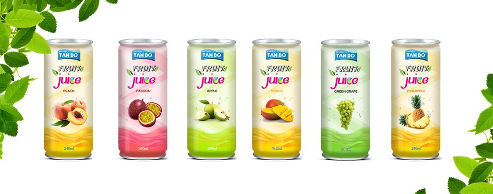 Tan Do Beverage Manufacturer - Fruit juice with pulp