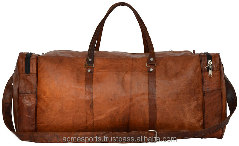 leather Duffle Bags - Wired Cooler Duffle Sports Bags