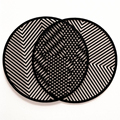 Laser Cut Black Paint MDF Coasters | Bulk Coasters Wooden Engraving