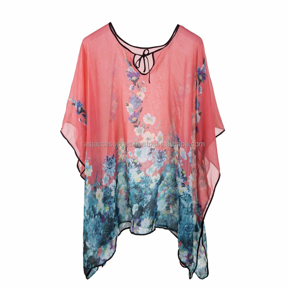 New Product Fashion Women Ladies Tops Tunic Beachwear Cover Up