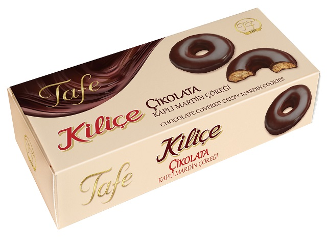 Tafe Chocolate Covered Kilice Crispy Mardin Cookies 75 g - 242 code