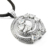Splendiferous Design 925 Sterling Silver White CZ Pendant Jewelry Wholesaler Handmade Silver Jewelry India