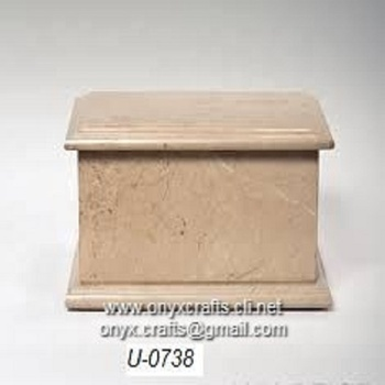 Verona Rectangle Marble Urn Urnas Urny in Cheap Wholesale