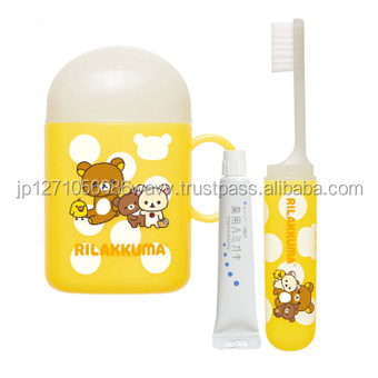 Rilakkuma Toiletries Toothbrush set San-X