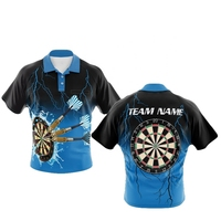 High End Custom Dart Shirts For Team Dart Jersey With Pockets Design