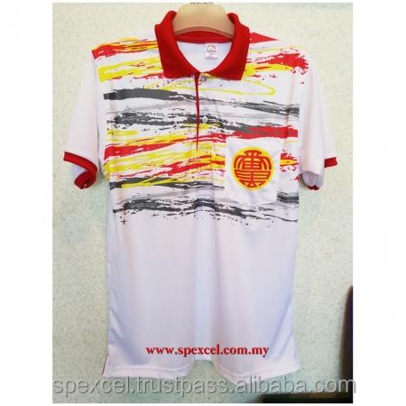 Corporate Uniform Microfiber Interlock Dry Fit Polo Tshirt | Direct custom made from Penang, Malaysia Tshirt Factory