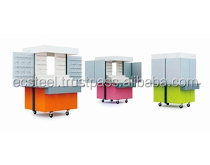 Mobilized F&B & Accessory Display Counter