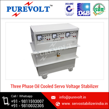 High/Low Cutout Protection 3 Phase Servo Voltage Stabilizer