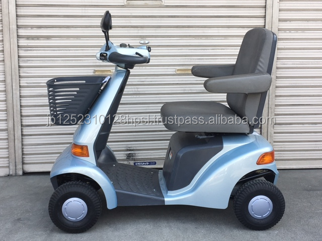 Highly Reliable and Comfortable Used SUZUKI ET4D-1 mobilty scooter Made in Japan