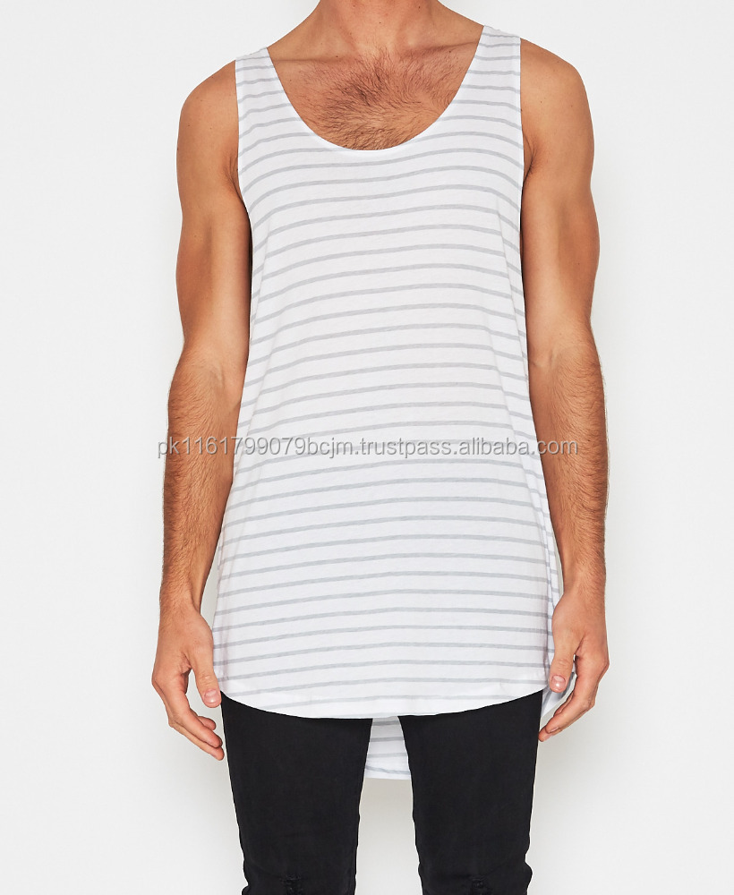 Heaven Rose Factory Supply Of Premium Quality Bamboo Sublimation TankTop For Mens