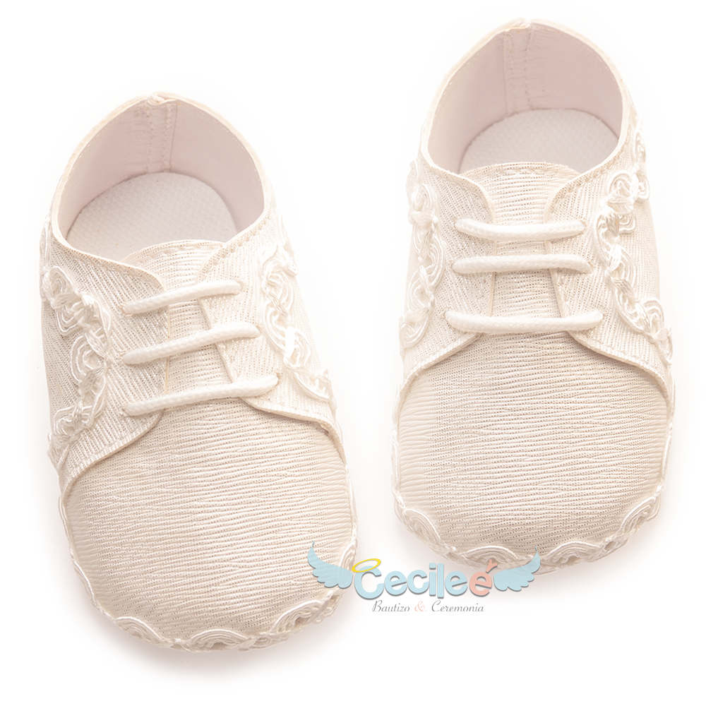 Elegant shoe for your baby's christening
