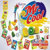 INSTANT POWDER DRINK WITH FRUIT FLAVOURS MR COOL