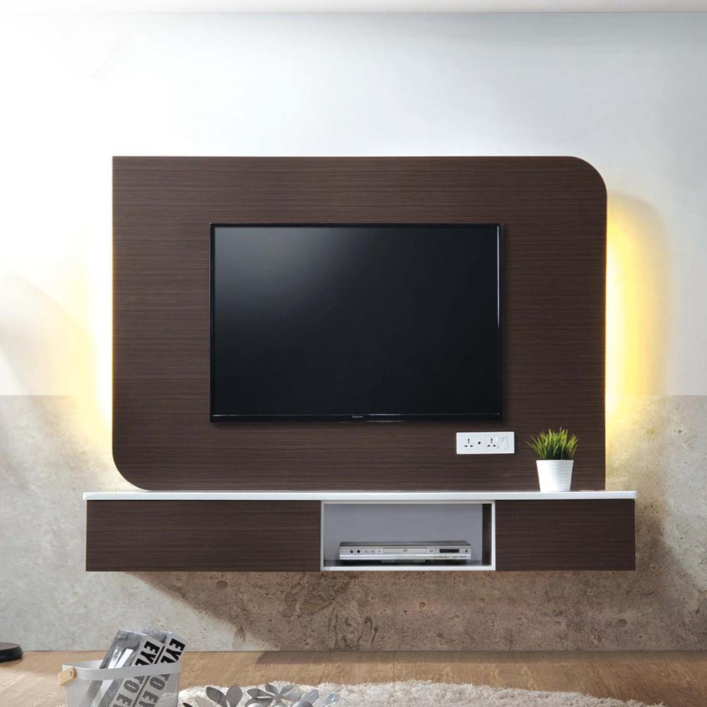 floating led lcd living furniture tv stand console furniture