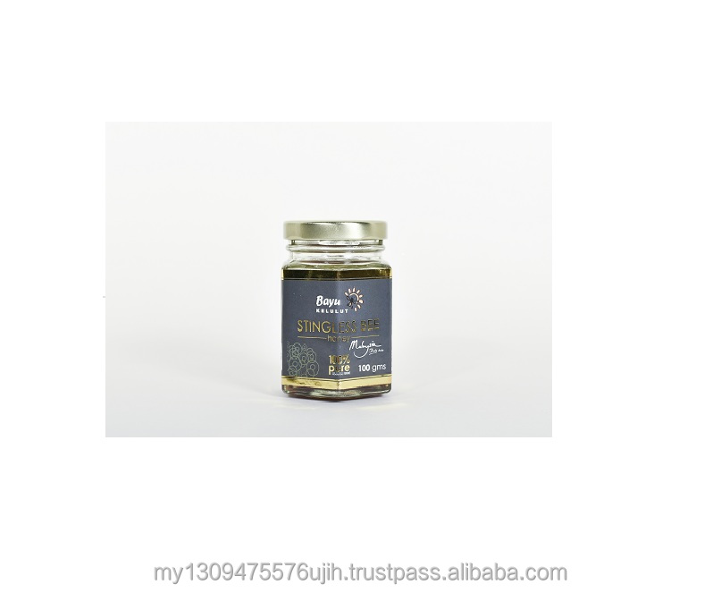 Pure Stingless Bee Honey Kelulut in Bottle