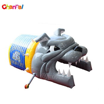 High Quality Inflatable Bulldog Tunnel America Football Helmet Sale