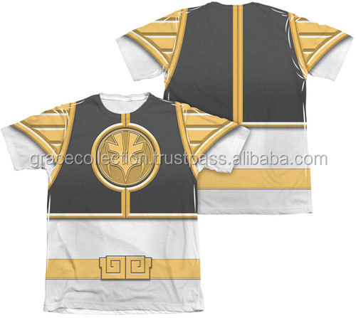 3D Quality Sublimation Costume Round Neck T-Shirt