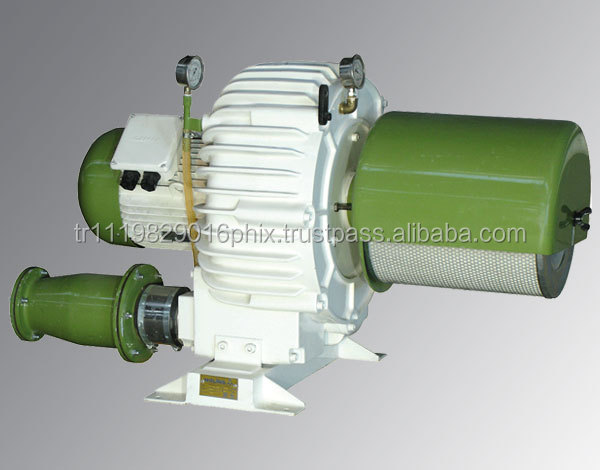 Centrifugal Compressor for Pneumatic Transportation