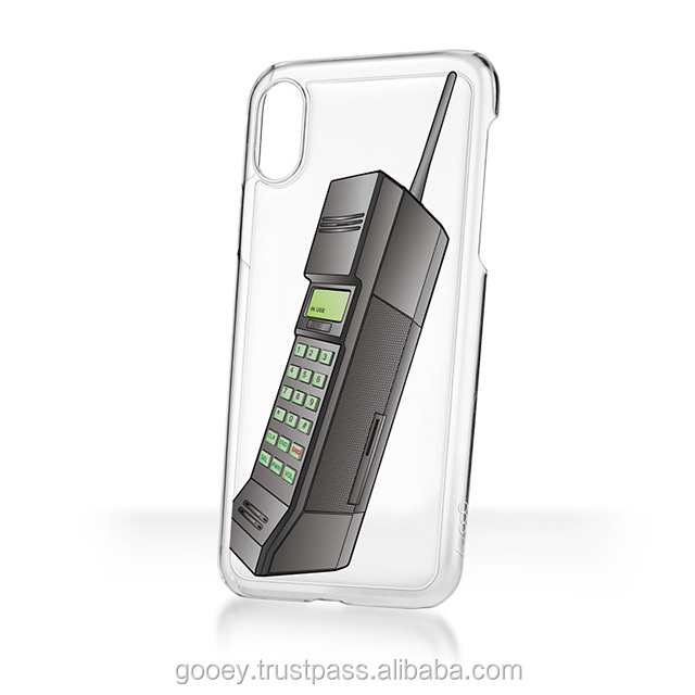 sticky phone case for various iPhone models goo.ey House Icon Design - cellphone