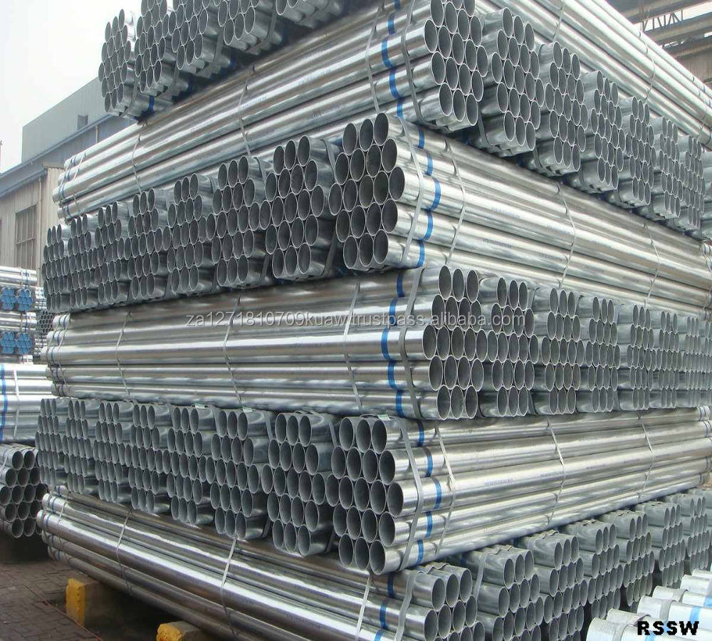 real deal steel pipes / galvanized stell pipes