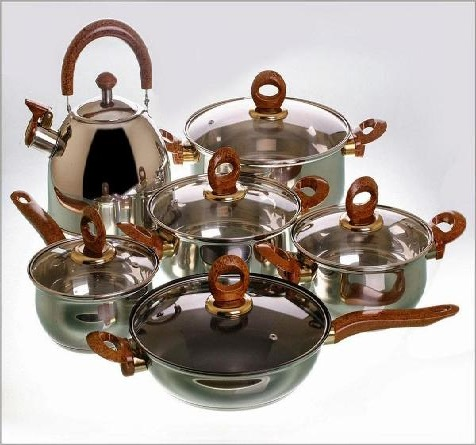 multi stainless steel cookware
