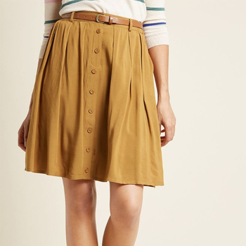Zega Apparel Cut and Sew fancy Skirt