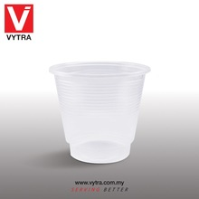 Vytra Airline Serving 7oz PP Disposable Plastic Cup