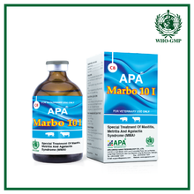 APA Marbo 10 I | Marbofloxacin Injection | Veterinary product for cattle | Cow medicine