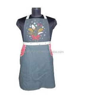 Cotton Kitchen Cooking Apron For Cooking