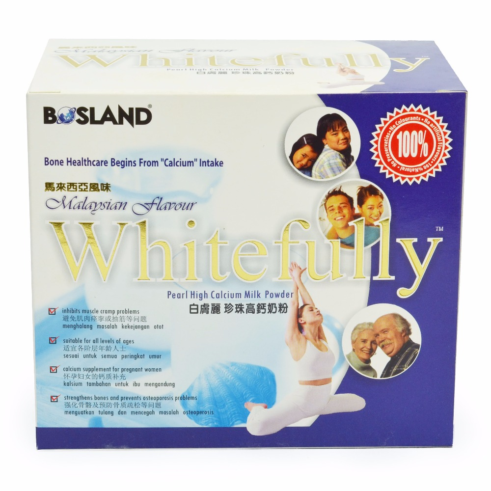Whitefully Hi-Cal Milk with Pearl Powder