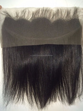 "High quality human hair lace closure 13""x4"", ear to ear lace frontal"
