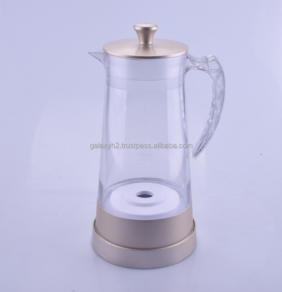 Hydrogen Water Filter Pitcher Electrolysis ORP - Galaxy Pitcher