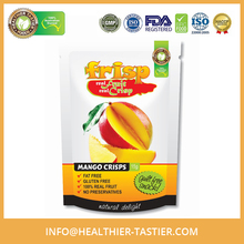 100% Healthy and Natural Gluten Free Mango Crisps