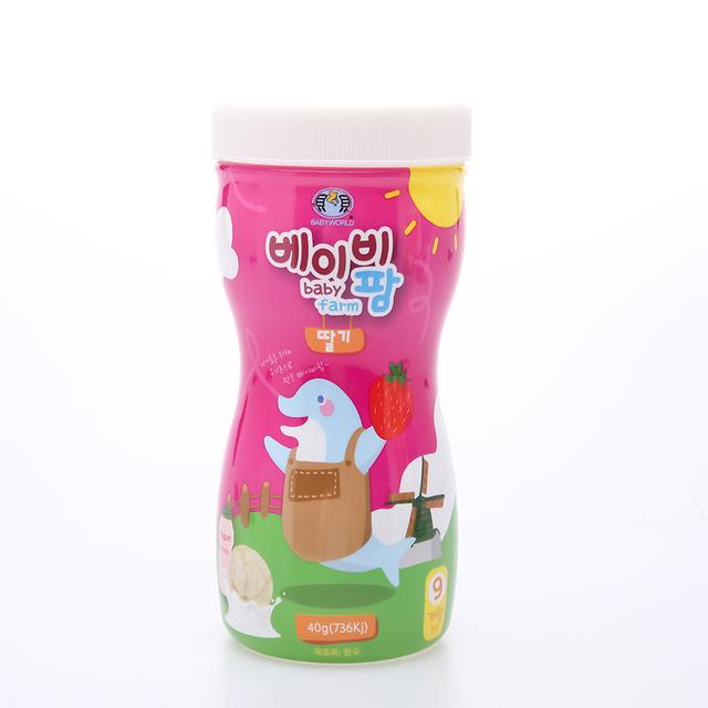 Korea products wholesale best price Puffs Babyfarm puffs strawberry