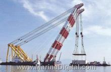 Floating Crane 2000 ton