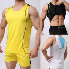 Top Quality 2017 New Brand clothing fashion Cotton Men's Tank Tops Sexy Muscle 8 colors M-XX