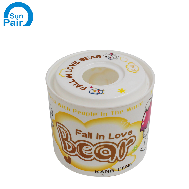 Hot sale PET Heat transfer printing label For Plastic Products