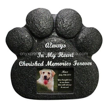 Black Marble Pet cremation Urns in Low Price
