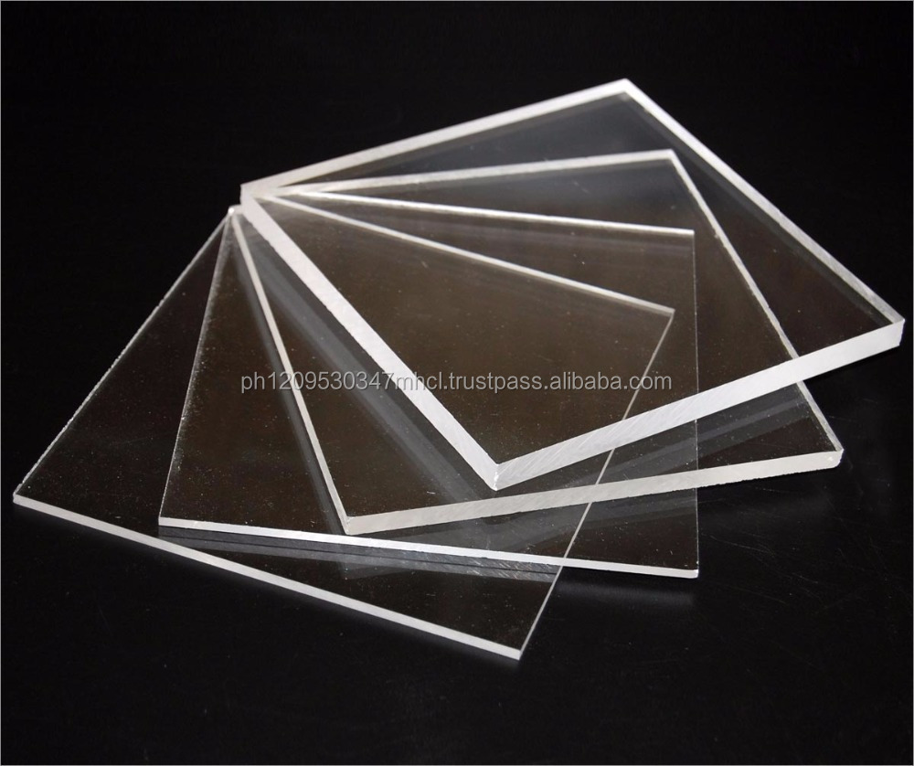 High clear 2mm acrylic sheet