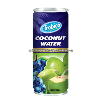 High Quality 250ml Coconut Water with Blueberry-Good For Health