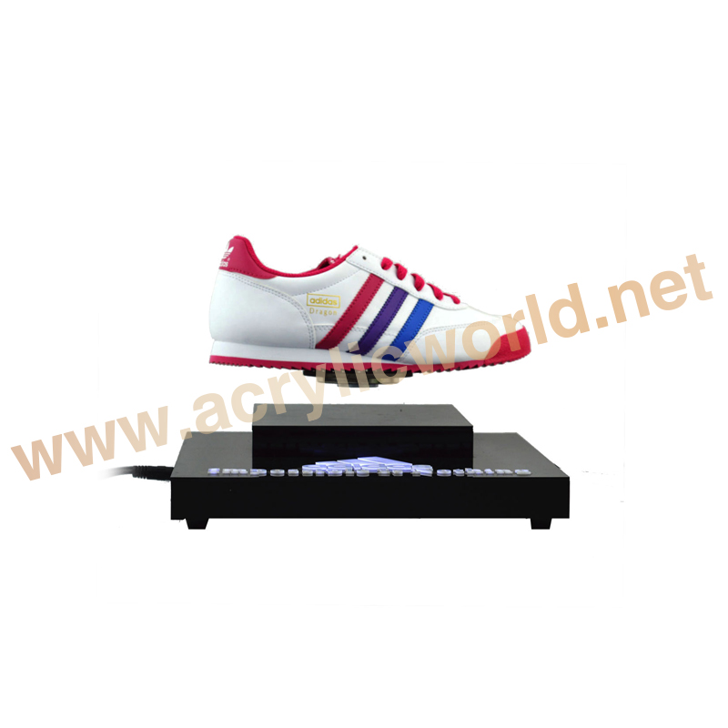 magnetic levitation shoe display/magnetic floating shoe display/magnetic levitating display stand