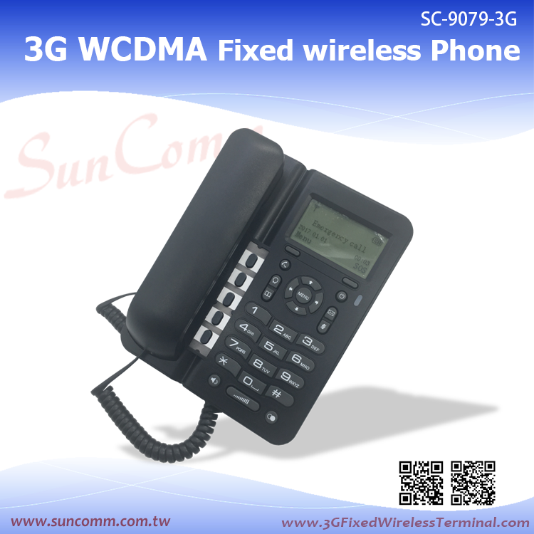 SC-9079-3GP 3G/GSM Fixed Wireless Desktop Phone Bluetooth headset compatible