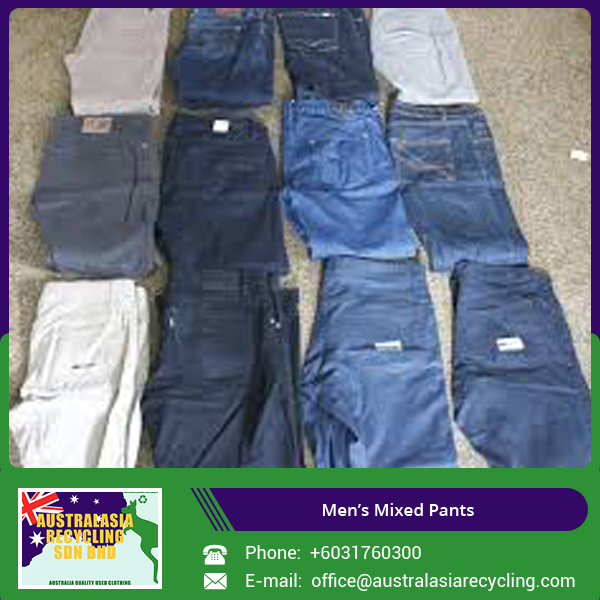 "Various Size and Designed Used Men""s Jeans Pants"