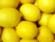 Fresh Citrus Fruits /Yellow Lemon & Green Lime/ yellow Eureka fresh lemon.