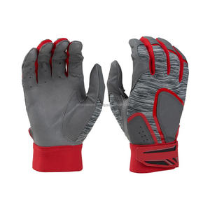 Genuine Leather Baseball Batting gloves, Digital Leather Palm