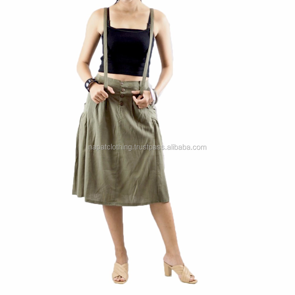 NAPAT New Style Cotton Skirt For Lady