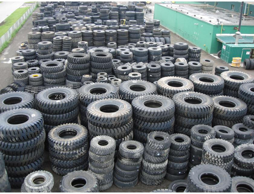 used car, truck, tractor tyre scraps / rubber tyre scrap