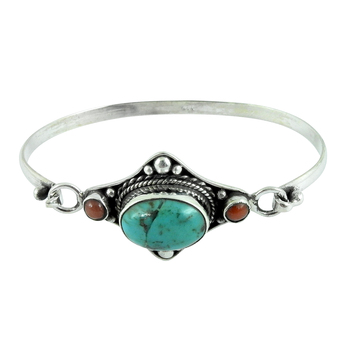 Beautiful multi gemstone 925 silver bangle sterling silver jewelry handmade silver bangles wholesaler