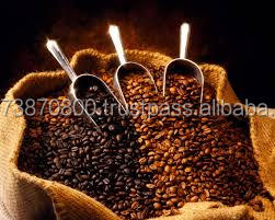 Arabica New coming first choice raw dark coffee beans for lowest price